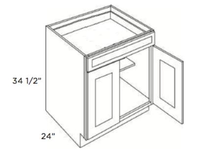 GHI-Base-Cabinet-B24-B27-B30-B33-Single-