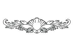 Forevermark Uptown White Corbels & Appliques 19-7/8W X 4-1/4H
