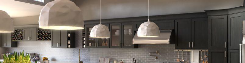 Grey Kitchen Cabinets (Forevermark Greystone Shaker)
