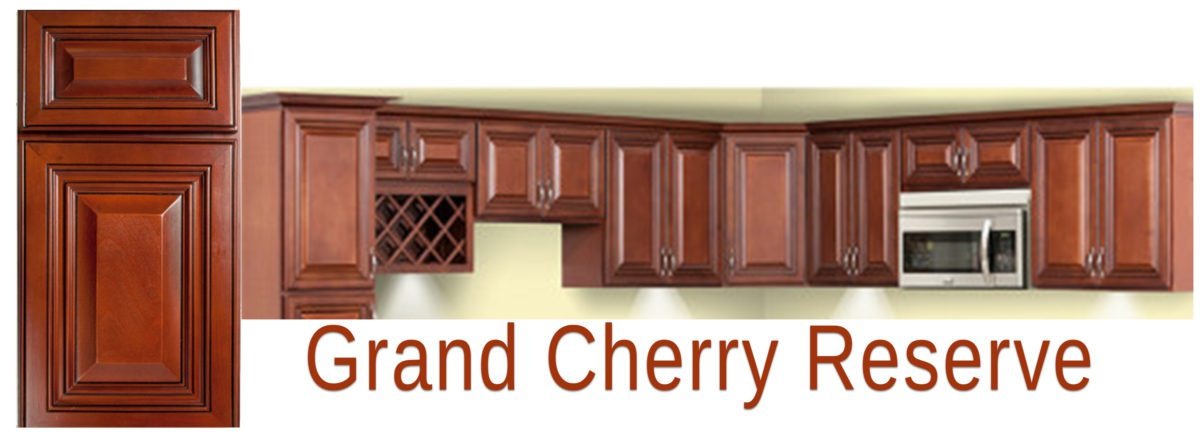 Feather Lodge Grand Reserve Cherry Waverly Cabinets