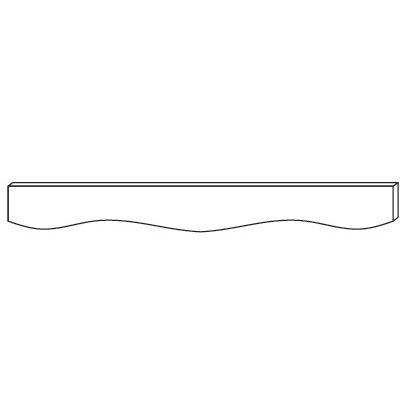 Cabinets, Forevermark Cinnamon Glaze Forevermark Cinnamon Glaze Valance 48W X 4-5/8H