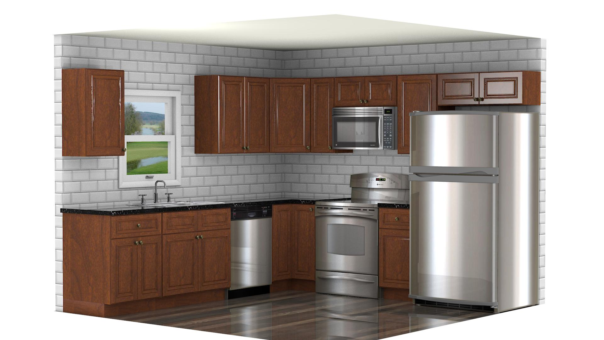 Ghi brandywine waverly cabinets for Brandywine kitchen cabinets