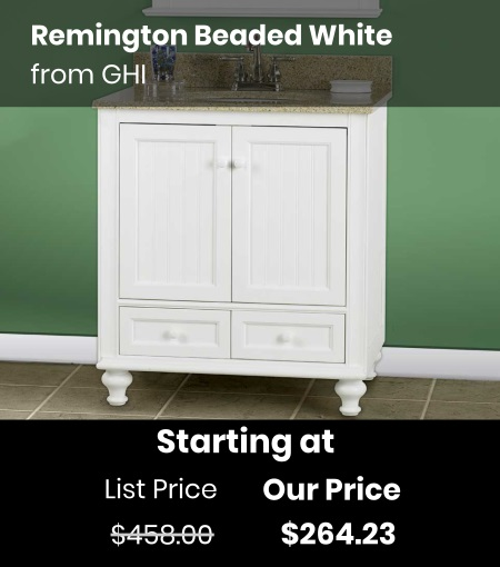 GHI Remington Beaded White