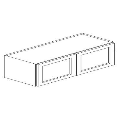 Cabinets, Forevermark Nova Light Grey Forevermark Refrigerator Wall Cabinet