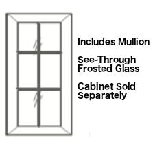 Cabinets, Forevermark Cinnamon Glaze mullion-linen-glass