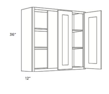 Cabinets, Cubitac Belmont Cafe Glaze Blind-Wall-Cabinet-30-BLW39_4230-BLW42_4530