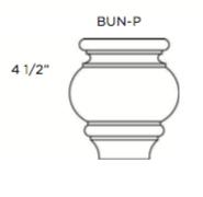 Cabinets, Cubitac Milan Shale Bun-Feet-BUN-P