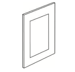 Cabinets, Cubitac Ridgewood Rose Sample-Door-DS12