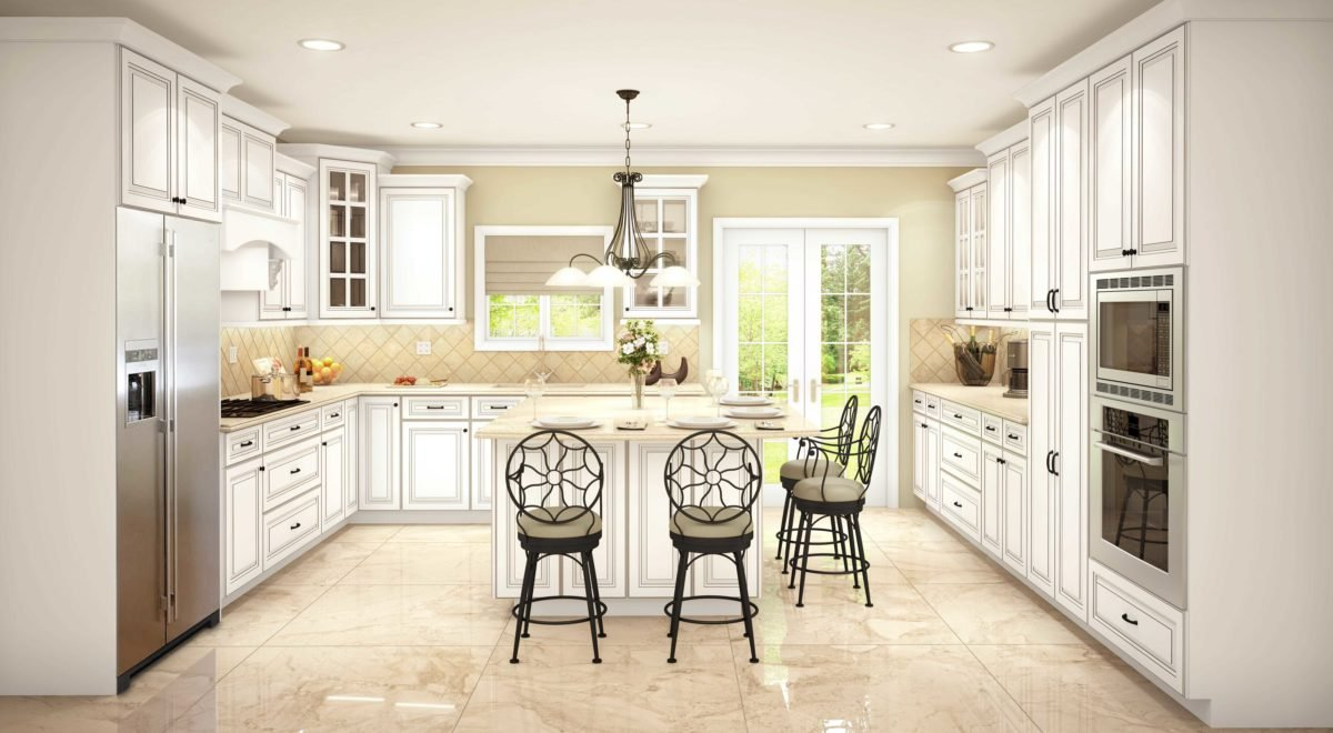Cubitac Sofia Pewter Glaze Kitchen