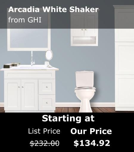 GHI Arcadia White Shaker