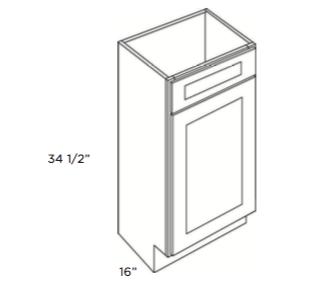 Cabinets, Cubitac Newport Cafe, Cubitac Newport Cafe Vanity-Sink-Base-V1816