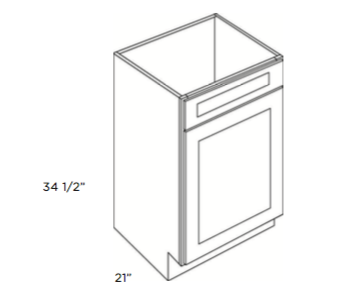 Cabinets, Cubitac Newport Cafe, Cubitac Newport Cafe Vanity-Sink-Base-V2121-