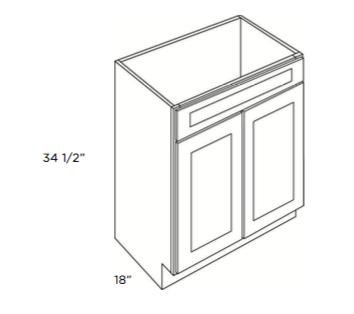 Cabinets, Cubitac Newport Cafe, Cubitac Newport Cafe Vanity-Sink-Base-V2418-V3018