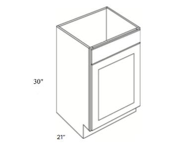 Cabinets, Cubitac Ridgewood Rose, Cubitac Ridgewood Rose Vanity-Sink-Base-V2421-30-Single
