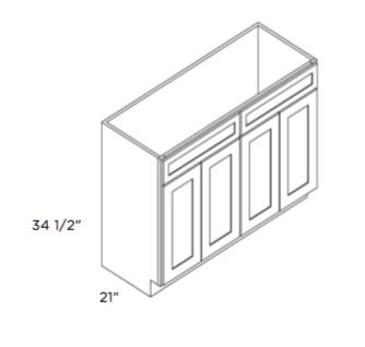 Cabinets, Cubitac Newport Cafe, Cubitac Newport Cafe Vanity-V4821-