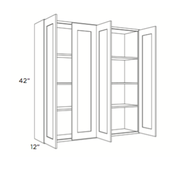 Cabinets, Cubitac Newport Cafe Wall-Cabinet-4842