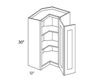 Cabinets, Cubitac Belmont Cafe Glaze Cubitac Milan Shale Wall Corner Cabinet