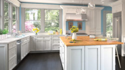 Colorful Uptown White Kitchen
