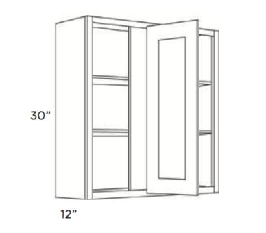 Forevermark K Series White Wall Blind Corner Cabinet 30w X 30h