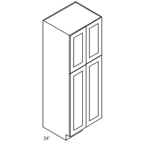 Forevermark K Series White Wall Pantry