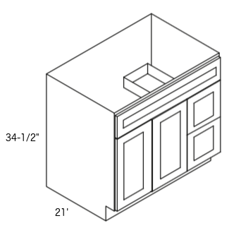 Cabinets, Forevermark K-Series White, Forevermark K-Series White