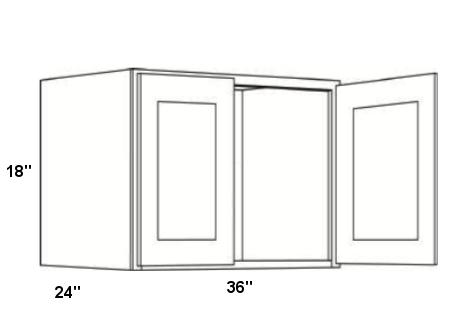 Cubitac Wall Cabinet 3618X24