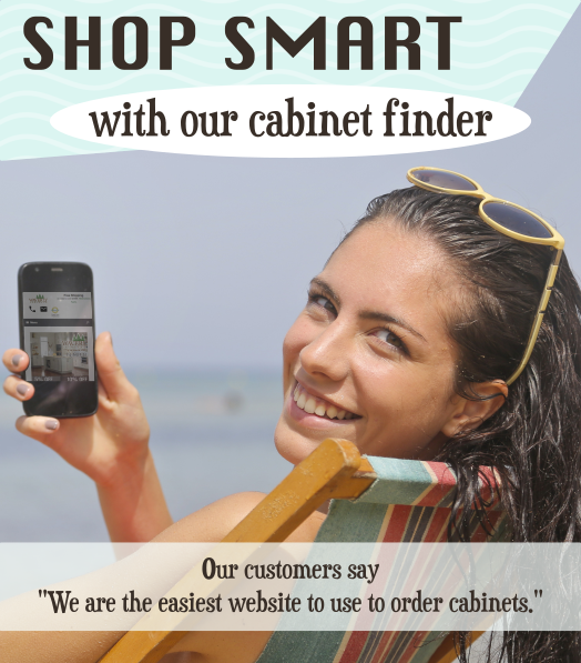 Shop Smart with Cabinet Finder