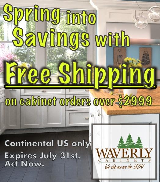 spring shipping savings