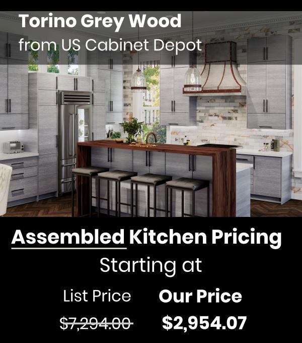 US Cabinet Depot Torino Grey Wood