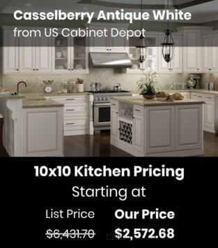 US Cabinet Depot Casselberry Antique White