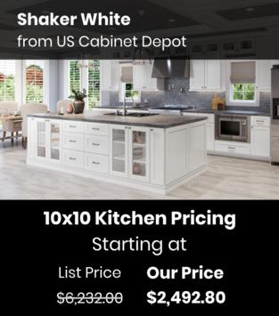 US Cabinet Depot Shaker White
