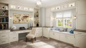 Shaker Antique White Home Office
