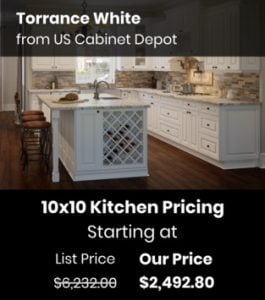 US Cabinet Depot Tahoe White TW-10x10