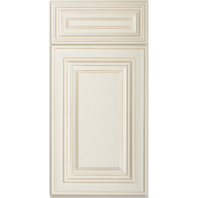 US Cabinet Depot Charleston Antique White Door Front