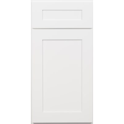 US Cabinet Depot Shaker Sonoma White Door Front