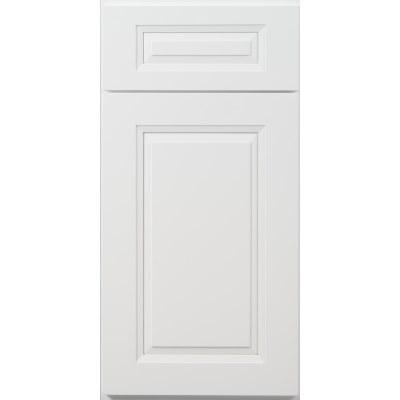 Sample Doors US Cabinet Depot Shaker Tahoe White Door Front