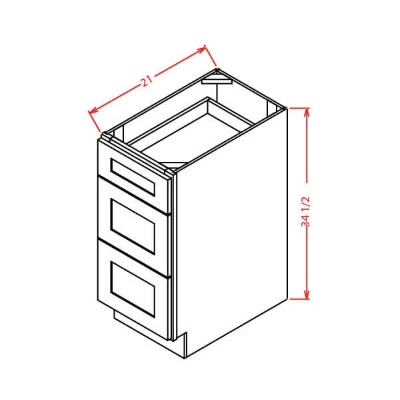 US Cabinet Depot Drawer Base Vanity