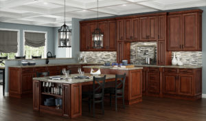 US Cabinet Depot Casselberry Saddle Kitchen