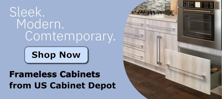 US Cabinet Depot Frameless Series Cabinets