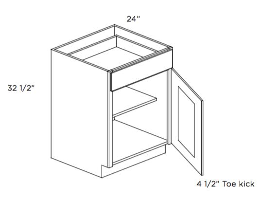Cabinets, Cubitac Ridgewood Cubiccino ADA Compliant Base Cabinet