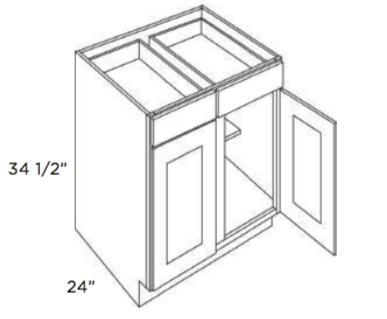 Cabinets, Forevermark Uptown White Forevermark Base-Cabinet-B39-B42-