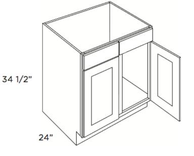Cabinets, Cubitac Ridgewood Cubiccino Cubitac Sink Base Cabinet SB39 or SB42