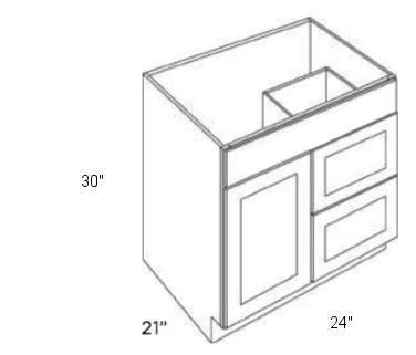 Cabinets, Cubitac Ridgewood Rose, Cubitac Ridgewood Rose Cubitac Vanity Combo V2421D-30
