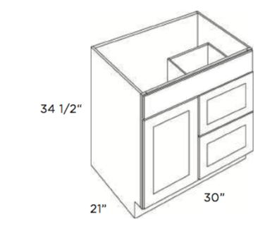 Cubitac Vanity Combo V3021D