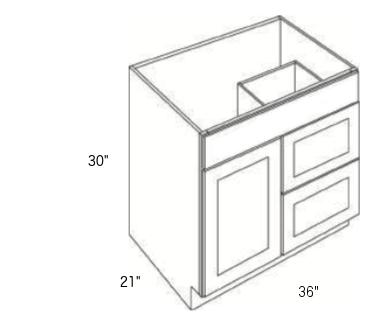 Cabinets, Cubitac Ridgewood Rose, Cubitac Ridgewood Rose Cubitac Vanity Combo V3621D-30
