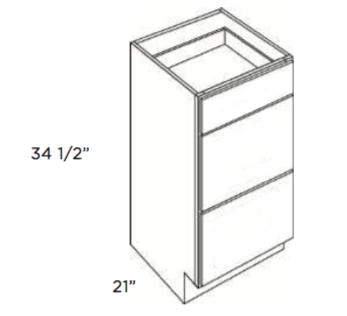 Cubitac Vanity Drawer Base Cabinet VBD1221 or VDB1521 or VDB1821