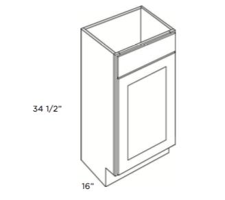 Cubitac Vanity Sink Base Cabinet V1816