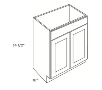 Cubitac Vanity Sink Base Cabinet V2418