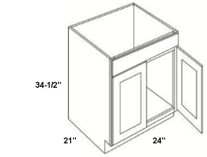 Cubitac Vanity Sink Base Cabinet V2421