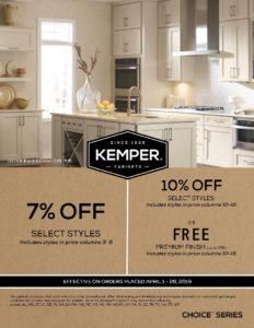 Kemper April 2019 promo 10% Off